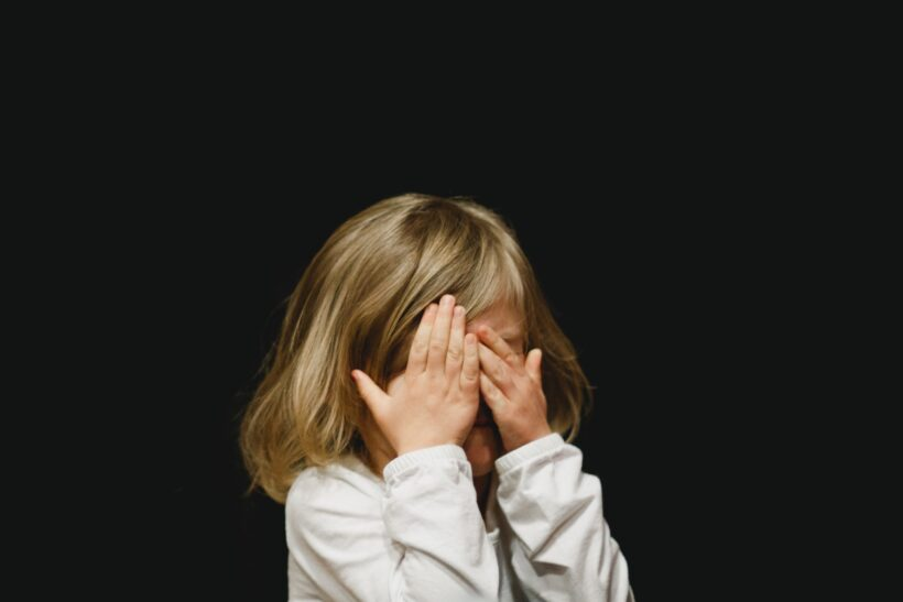 a child with mental health issues
